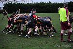 25/02/2017.  Bourne Rugby Club,  United Kingdom. Stamford College Old Boys v Bourne Jonathan Clarke / JPC Images