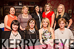 Karen Tobin, Tralee, celebrating a special birthday with friends at Cassidy's on SaturdayFront L-R Liz Doyle, Geraldine O Dwyer, Karen Tobin, Fionnuala English. Back L-R Geraldine O Shea, Ann O Callaghan, Fiona Morris, Rebecca Tobin and Niamh O Mahony