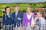 Emer O'Shea, Mai O'Shea, Bridget Purcell and Claire O'Shea Killarney enjoying the Killarney Races on Monday