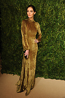 NEW YORK, NY - NOVEMBER 6: Hilary Rhoda at the 14th Annual CFDA Vogue Fashion Fund Gala at Weylin in Brooklyn, New York City on November 6, 2017. Credit: John Palmer/MediaPunch