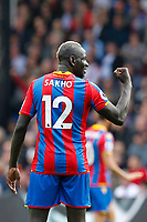 Mamadou Sakho of Crystal Palace during the EPL - Premier League match between Crystal Palace and West Bromwich Albion at Selhurst Park, London, England on 13 May 2018. Photo by Carlton Myrie / PRiME Media Images.