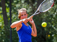 Hilversum, Netherlands, August 7, 2017, National Junior Championships, NJK, Laurèl Polman<br /> Photo: Tennisimages/Henk Koster