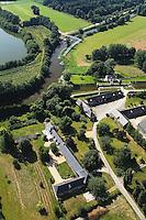 Bruz et Chavagne - Écluse de Cicé Blossac et dépendances de l'ancien château de Cicé