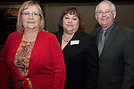 Margaret Eyster, Magoos Print Shop with Phyllis Oustifine, Hawes Hill Calderon llp, with guest at the East Aldine Annual Partners Reception and Dinner