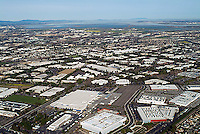 aerial photograph Santa Jose, Santa Clara county, California
