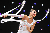 "February 9, 2014 - Tartu, Estonia - VIKTORIA MAZUR of Ukraine performs at ""Miss Valentine 2014"" international tournament."