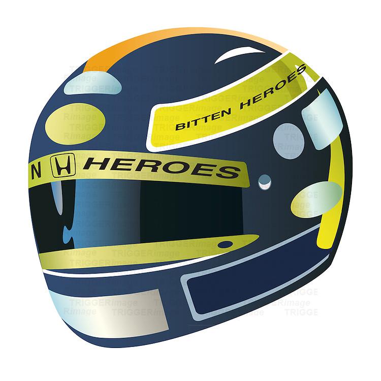 Heroes racing helmet