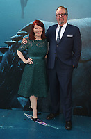 HOLLYWOOD, CA - August 6: Kate Flannery, Chris Haston, at Warner Bros. Pictures And Gravity Pictures' Premiere Of &quot;The Meg&quot; at TCL Chinese Theatre IMAX in Hollywood, California on August 6, 2018. <br /> CAP/MPI/FS<br /> &copy;FS/MPI/Capital Pictures