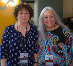 Donna Fulkerson and Kathie Roberts during the Ted X event on Saturday, Jan. 27, 2018 at the Reno-Sparks Convention Center in Reno.