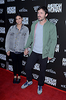 """LOS ANGELES - JUN 5:  Floriana Lima, Casey Affleck at the """"American Woman"""" L.A. Premiere at the ArcLight Hollywood on June 5, 2019 in Los Angeles, CA"""