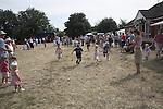 Children's race, Butley Flower Show village fete, Butley, Suffolk, England