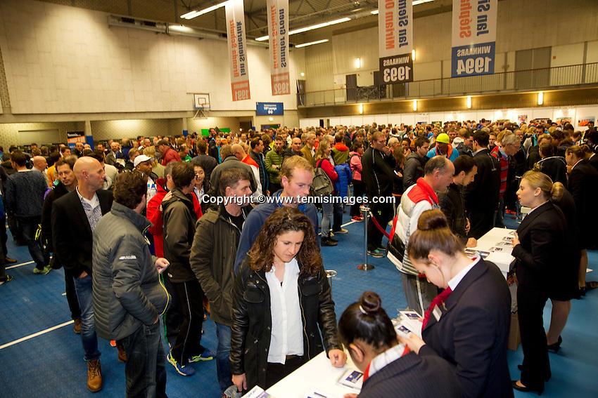 Rotterdam, Netherlands, December 17, 2015,  Topsport Centrum, coaches congress<br /> Photo: Tennisimages/Henk Koster