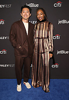 "24 March 2019 - Hollywood, California - Steven Yeun, Sonequa Martin-Green. 2019 PaleyFest LA - ""Star Trek: Discovery"" held at Dolby Theater. <br /> CAP/ADM/FS<br /> ©FS/ADM/Capital Pictures"