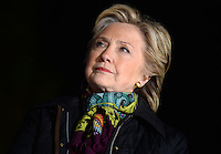PHILADELPHIA, PA - OCTOBER 22: Democratic presidential candidate Hillary Clinton pictured during a rally at The University of Pennsylvania in Philadelphia, Pennsylvania on October 22, 2016. Credit: Dennis Van Tine/MediaPunch
