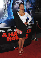 "LOS ANGELES, CA - APRIL 16:  World premiere of ""A Haunted House 2"" at Regal Cinemas at L.A. Live on April 16, 2014 in Los Angeles, California. PGSK/MPI/Starlitepics /NortePhoto"