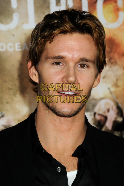 """RYAN KWANTEN.HBO's """"The Pacific"""" Mini-Series Premiere held at Grauman's Chinese Theatre, Hollywood, California, USA..February 24th, 2010.headshot portrait black stubble facial hair .CAP/ADM/BP.©Byron Purvis/AdMedia/Capital Pictures."""