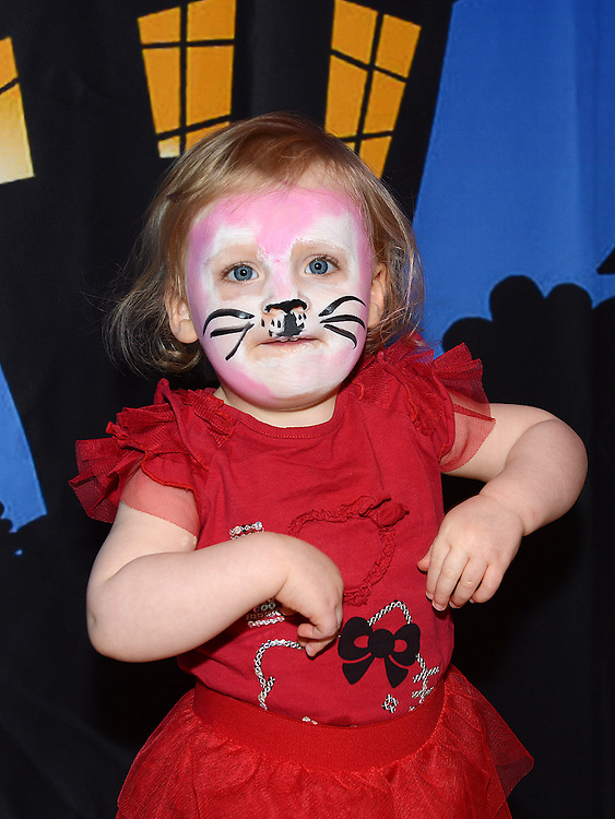 Iona Mí Scolaidhe enjoying the Halloween fun in Scotch Hall. Photo:Colin Bell/pressphotos.ie