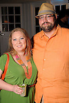"Alison Brown and Brant Wallace at the ""A Night in Havana""  benefit at Concepcion on W. Alabama  Saturday July 21, 2012.(Dave Rossman/For the Chronicle)"