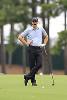 Brendan Steele (USA) waits to play his 2nd shot on the 10th hole during Friday's Round 2 of the 2017 PGA Championship held at Quail Hollow Golf Club, Charlotte, North Carolina, USA. 11th August 2017.<br /> Picture: Eoin Clarke | Golffile<br /> <br /> <br /> All photos usage must carry mandatory copyright credit (&copy; Golffile | Eoin Clarke)