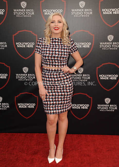 WWW.ACEPIXS.COM<br /> <br /> July 14 2015, Los Angeles Ca<br /> <br /> Grace Valerie arriving at the Warner Bros. Studio Tour Hollywood Expansion Official Unveiling on July 14 2015 in Los Angeles California.<br /> <br /> Please byline: Peter West/ACE Pictures<br /> <br /> ACE Pictures, Inc.<br /> www.acepixs.com<br /> Email: info@acepixs.com<br /> Tel: 646 769 0430