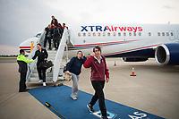 Dallas, TX - March 28, 2017: The Stanford Cardinal prepares for the Final Four 2017 in Dallas, Texas