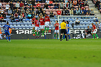 Tuesday, 7 May 2013<br /> <br /> Pictured: <br /> <br /> Re: Barclays Premier League Wigan Athletic v Swansea City FC  at the DW Stadium, Wigan