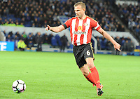 Lee Cattermole  of Sunderland during the Premier League match between Leicester City v Sunderland played at King Power Stadium, Leicester on 4th April 2017.<br /> <br /> <br /> available via IPS Photo Agency/Rex Features  only