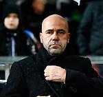 Nederland, Almelo, 22 december 2012.Eredivisie .Seizoen 2012-2013.Heracles Almelo-PEC Zwolle.Peter Bosz, trainer-coach van Heracles Almelo