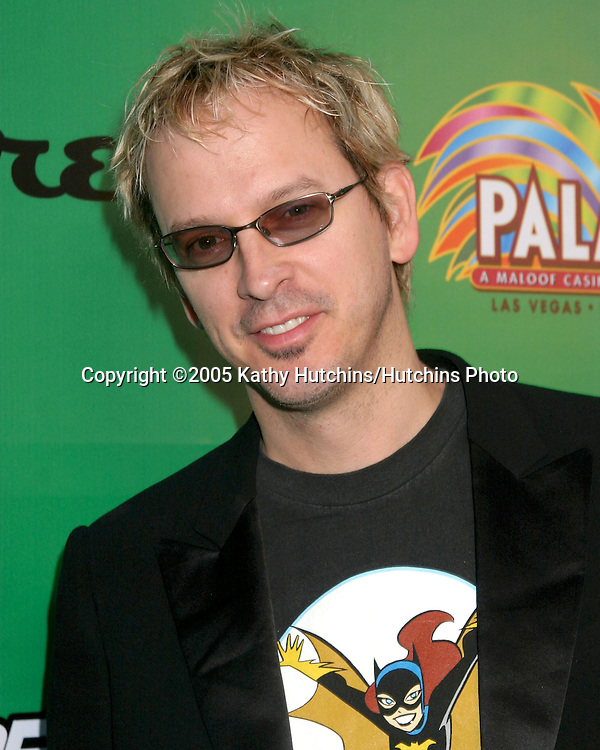 Phil Laak (The Unabomber).Phil Hellmuth Birthday Party, sponsored by GreenTiePoker.com.Quixote Studios.Los Angeles, CA.July 16, 2005.©2005 Kathy Hutchins / Hutchins Photo