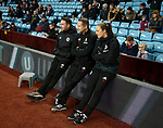 Mike Allen, Paul Watson and Ruth Titterton during the Championship match at Villa Park Stadium, Birmingham. Picture date 23rd December 2017. Picture credit should read: Simon Bellis/Sportimage