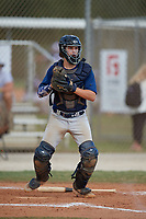 Pierce Chambers (8) during the WWBA World Championship at the Roger Dean Complex on October 13, 2019 in Jupiter, Florida.  Pierce Chambers attends Calvary Christian High School in Treasure Island, FL and is committed to TCU.  (Mike Janes/Four Seam Images)