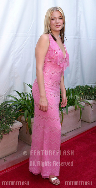 Leeann Rimes arrives at the 36th annual Academy of Country Music Awards May 9, 2001 at the Universal Amphitheatre in Universal City, Calif.  (Photo by Featureflash)