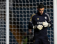 Leeds United's Kiko Casilla warms up<br /> <br /> Photographer Alex Dodd/CameraSport<br /> <br /> Carabao Cup Second Round Northern Section - Leeds United v Hull City -  Wednesday 16th September 2020 - Elland Road - Leeds<br />  <br /> World Copyright © 2020 CameraSport. All rights reserved. 43 Linden Ave. Countesthorpe. Leicester. England. LE8 5PG - Tel: +44 (0) 116 277 4147 - admin@camerasport.com - www.camerasport.com