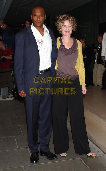 COLIN SALMON.Attends An Evening At The Sanderson Party, London..3rd June 2003.full length, full-length, blue suit.www.capitalpictures.com.sales@capitalpictures.com.Supplied By Capital Pictures