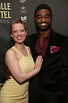 Patti Murin and Jelani Alladin attends the 33rd Annual Lucille Lortel Awards on May 6, 2018 in New York City.