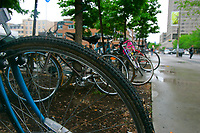 Montreal (Qc) Canada - file photo 2007 - bicycles
