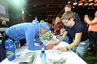 SCHAATSEN: HEERENVEEN: 31-10-2014 - 02-11-2014, IJsstadion Thialf, NK Afstanden, KPN Clubhuis, ©foto Martin de Jong