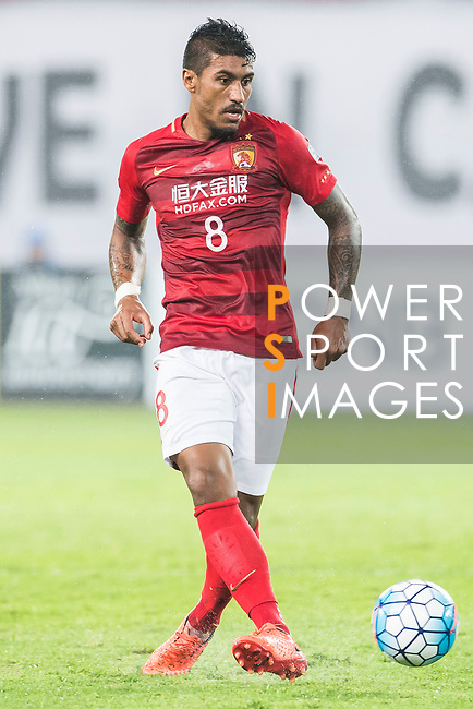 Jose Paulo Bezerra Maciel Junior of Guangzhou Evergrande FC in action during their AFC Champions League 2017 Match Day 1 Group G match between Guangzhou Evergrande FC (CHN) and Eastern SC (HKG) at the Tianhe Stadium on 22 February 2017 in Guangzhou, China. Photo by Victor Fraile / Power Sport Images