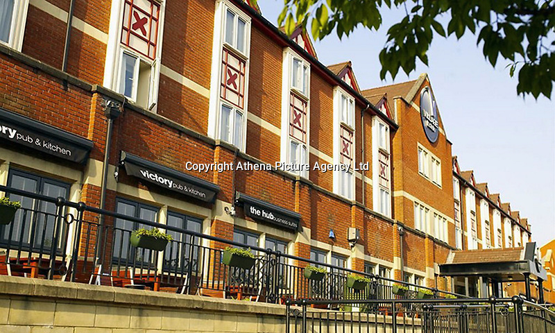 """Pictured: Village Hotel in Cardiff, Wales. STOCK PICTURE<br /> Re: A leaving do for  more than 1,000 Tesco workers turned into a boozy brawl.<br /> Police were called after a staff started scrapping leaving a woman injured.<br /> Employees were branded a """"disgrace"""" for drinking at 10am on their last day at the call centre in Heath, Cardiff.<br /> One woman worker said: """"They were drinking prosecco, beer, cider and pretty much whatever they could get their hands on. <br /> """"By midday they were largely well-oiled.<br /> """"The whole thing was a disgrace, bringing Tesco's name into disrepute.""""<br /> The farewell party moved on to the four star Village Hotel in Cardiff where the fight broke out."""