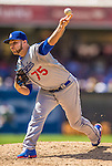 23 June 2013: Los Angeles Dodgers pitcher Paco Rodriguez on the mound against the San Diego Padres at Petco Park in San Diego, California. The Dodgers defeated the Padres 3-1, splitting their 4-game Divisional Series at 2-2. Mandatory Credit: Ed Wolfstein Photo *** RAW (NEF) Image File Available ***