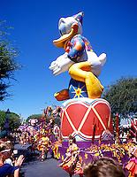 Carnival parade at Disneyland in Anaheim California