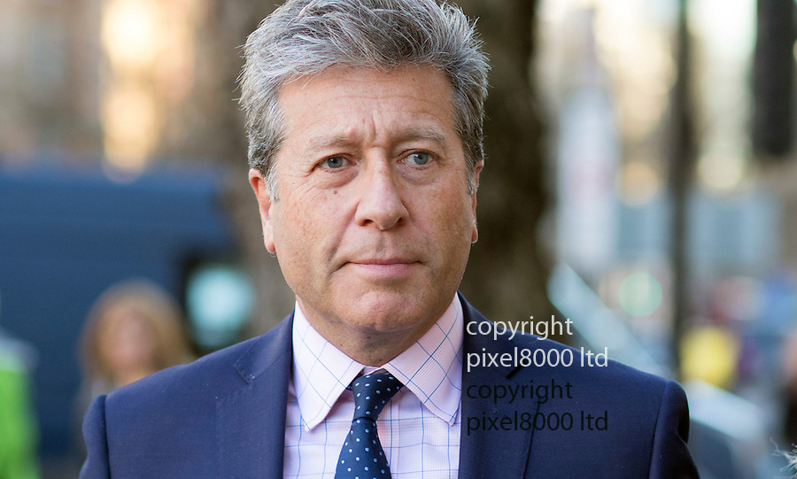 Pic shows: Neil Fox arrives at Westminster Magistrates Court today  4.12.15<br /> <br /> <br /> He arrived grim faced  walking quickly with his wife Vicky <br /> <br /> <br /> <br /> Pic by Gavin Rodgers/Pixel 8000 Ltd<br /> <br /> <br /> <br /> <br /> Pic by Gavin Rodgers/Pixel 8000 Ltd