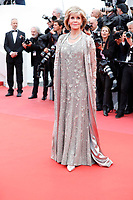 Jane Fonda attends the screening of 'Blackkklansman' during the 71st annual Cannes Film Festival at Palais des Festivals on May 14, 2018 in Cannes, France. <br /> CAP/GOL<br /> &copy;GOL/Capital Pictures