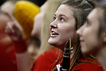 KANSAS CITY, KS - DECEMBER 14: The band cheers on their team during the Division I Women's Volleyball Semifinals held at Sprint Center on December 14, 2017 in Kansas City, Missouri. (Photo by Tim Nwachukwu/NCAA Photos via Getty Images)