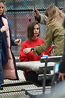 www.acepixs.com<br /> April 25, 2017 New York City<br /> <br /> Emily Ratajkowski photo shoot in New York City on April 25, 2017.<br /> <br /> Credit: Kristin Callahan/ACE Pictures<br /> <br /> <br /> Tel: 646 769 0430<br /> Email: info@acepixs.com