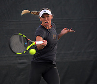 KEY BISCAYNE, FL - MARCH 23:(EXCLUSIVE COVERAGE) Caroline Wozniacki on day 5 of the Miami Open at Crandon Park Tennis Center. Caroline Wozniacki is a Danish professional tennis player. She is currently world No. 2 and a former world No. 1 in singles in the WTA Tour. She was the first woman from a Scandinavian country to hold the top ranking position and 20th overall on March 23, 2018 in Key Biscayne, Florida. <br /> <br /> <br /> People:  Caroline Wozniacki