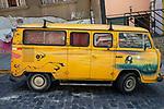 Painted VW Van, Valparaiso