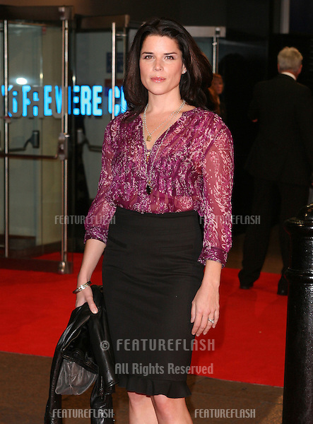 Neve Campbell attending the 'The Men Who Stare At Goats' film premiere, at Odeon Leicester Square, London. 15/10/2009   Picture By: Alexandra Glen / Featureflash