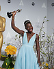 Lupita Nyong&rsquo;o poses with her Oscar<br /> <br /> 86TH OSCARS<br /> The Annual Academy Awards at the Dolby Theatre, Hollywood, Los Angeles<br /> Mandatory Photo Credit: &copy;Dias/Newspix International<br /> <br /> **ALL FEES PAYABLE TO: &quot;NEWSPIX INTERNATIONAL&quot;**<br /> <br /> PHOTO CREDIT MANDATORY!!: NEWSPIX INTERNATIONAL(Failure to credit will incur a surcharge of 100% of reproduction fees)<br /> <br /> IMMEDIATE CONFIRMATION OF USAGE REQUIRED:<br /> Newspix International, 31 Chinnery Hill, Bishop's Stortford, ENGLAND CM23 3PS<br /> Tel:+441279 324672  ; Fax: +441279656877<br /> Mobile:  0777568 1153<br /> e-mail: info@newspixinternational.co.uk