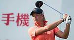 TAOYUAN, TAIWAN - OCTOBER 26:  Suzann Pettersen of Norway tees off on the 15th hole during the day two of the Sunrise LPGA Taiwan Championship at the Sunrise Golf Course on October 26, 2012 in Taoyuan, Taiwan. Photo by Victor Fraile / The Power of Sport Images